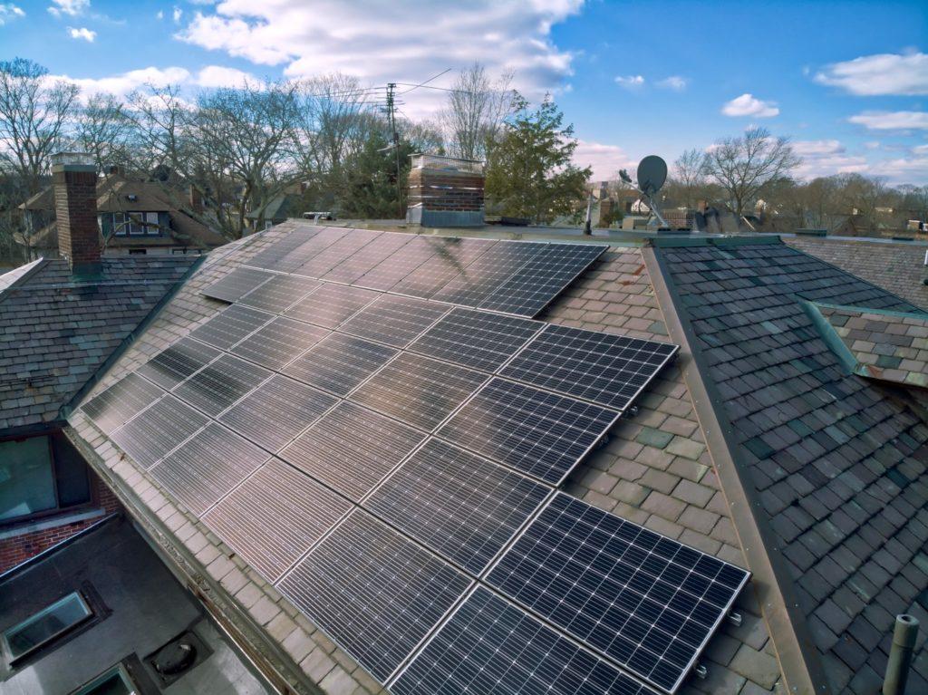 solar on slate roof